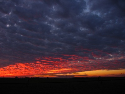 sunset December, 2008