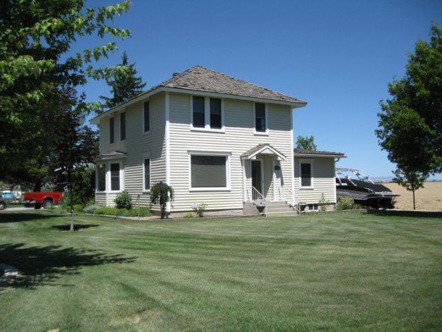 The original farm house - with a few improvements!