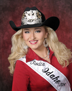 Miss Rodeo Idaho 2014, Hali Stutzman