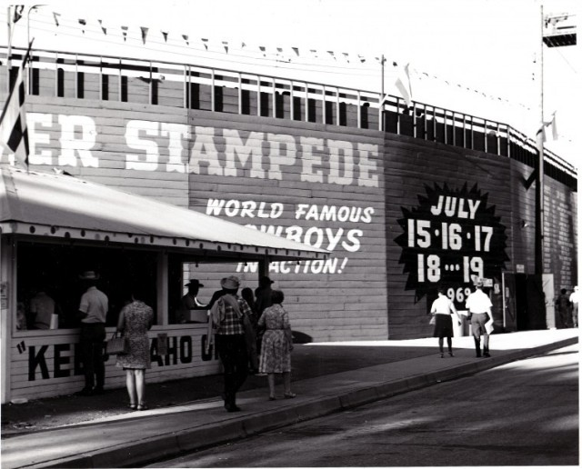 Old Stampede Stadium Photo Source