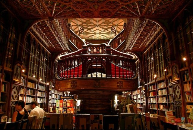 You should probably buy them from this bookstore. It's one of the most beautiful in the world. And in Portugal #extremechristmasshopping