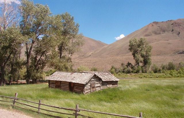 Old House in Jr's hay field