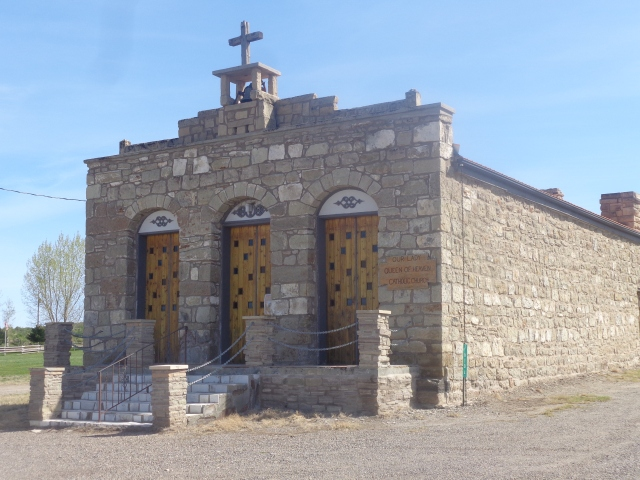 Original 1860's trading post, now turned church