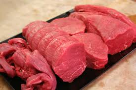 A tasty pile of antibiotic-free beef. Photo source